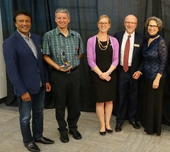 "Sanjay Singhal, Blake Laufer, MP Karina Gould, Chris Stoate and Karen Grant • <a style=""font-size:0.8em;"" href=""https://www.flickr.com/photos/124986169@N08/27905241616/"" target=""_blank"">View on Flickr</a>"