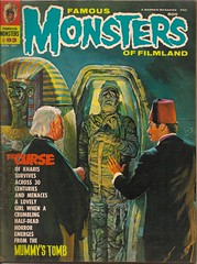 Famous Monsters No. 83 (Warren April 1971) (Donald Deveau) Tags: magazine warren themummy forrestjackerman famousmonsters curseofthemummystomb