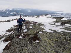 19_03_2015_1132 (andysuttonphotography) Tags: park winter mountain mountains cold norway rock walking hiking norwegian walker national summit hiker rondane schist venabu svartfjellet