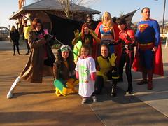 IMG_3399 (foodbyfax) Tags: phoenix cosplay superman batman supergirl rogue superboy gambit kittypryde heroesallianceohio