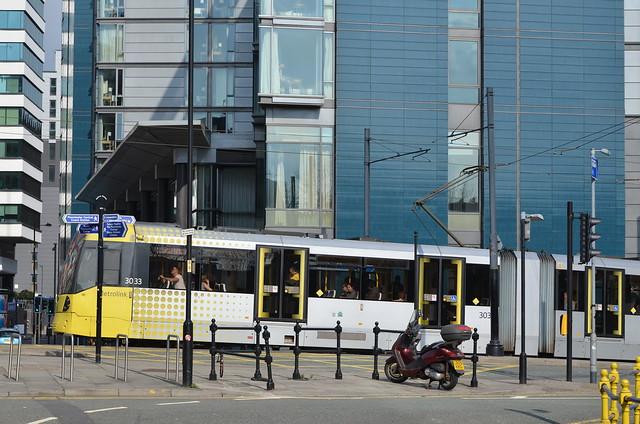 Metrolink, Aytoun Street/Auburn Street, Manchester