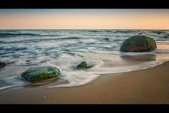 Baltic Sea (Blitzknips) Tags: ocean longexposure sunset seascape beach water stone strand landscape island meer wasser waves sonnenuntergang balticsea insel steine rügen landschaft a77 wellen langzeitbelichtung alpha77 sonya77