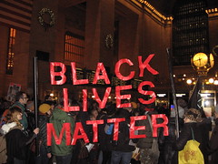 Black Lives Matter (newyork music) Tags: wisconsin march justice rally protest nypd grandcentralstation ferguson policebrutality singin mikebrown gunviolence guncontrol icantbreathe diein ericgarner blacklivesmatter