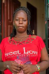 Mammie Payne (Ebola Survivor) (ReinierVanOorsouw) Tags: girls portrait woman color colors girl female canon un health human westafrica 5d canon5d colourful monrovia stories liberia healthcare 1person interest survivor westafrika humaninterest ebola epidemic beyondborders evd africanwoman unfpa