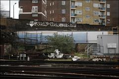 Cosa (Alex Ellison) Tags: urban graffiti boobs railway graff ac southlondon cos cosa trackside dds allcity