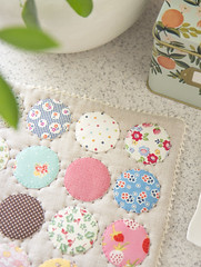On the Spot Trivet (transientart) Tags: cute sewing sew spot homemade trivet on hotpad transientart nanacompany