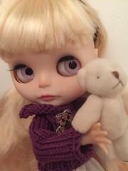 I love my teddy 💜