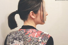 Answer (perlamuter) Tags: selfportrait colour girl kimono sideview kristinaperlamuter