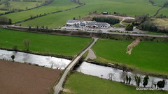 IMG_4430 (ppg_pelgis) Tags: road ireland river flying inn country aerial northern ppg a5 mellon tyrone strule omagh notadrone melloncountryinn