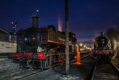 L92 and 4566 (LMSlad) Tags: black spring br tank railway severn valley prairie gala lt 262 060 gwr pannier bewdley 5786 4566 l92