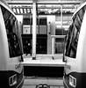 City Hall Stn (christait) Tags: street blackandwhite bw canada calgary station train cityhall hasselblad alberta transit yyc ctrain ilforddelta3200 500cm calgarytransit rodinal1100stand2hrs