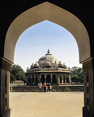 Tomb (Zainab K96) Tags: india building architecture ancient delhi tomb dome frame oldarchitecture
