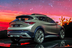 Infinity QX-30 (Keinsei2) Tags: auto show cars car sport switzerland fuji suisse expo geneva geneve 4x4 infinity voiture event fujifilm salon motor autos genve  supercar coches automobili palexpo 2015 rassemblement xa1  worldcars  qx30