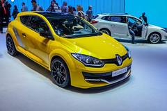 Renault Megane RS (Keinsei2) Tags: auto show cars car sport switzerland fuji suisse expo geneva geneve voiture renault event fujifilm salon motor autos genve rs  supercar coches megane automobili palexpo 2015 rassemblement xa1