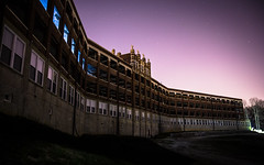 Midnight at Waverly Hills Sanatorium. (Rodney Harvey) Tags: abandoned hospital kentucky ghost eerie haunted creepy spooky louisville sanatorium paranormal disease tb plague tuberculosis whitedeath