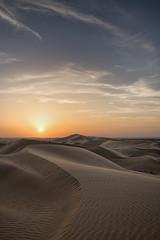 Desert sunset UAE. (Explored). (miketonge) Tags: sunset desert dunes uae abudhabi alain