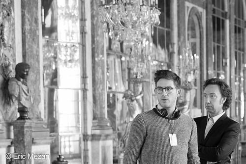 Secrets d'Histoire : tournage Louis XVI au château de Versailles, mars 2015