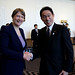 Miss Helen Clark and Foreign Minister in Japan at WCDRR on 15 March 2015