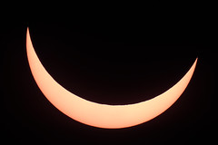 85% Solar Eclipse (Thames Air) Tags: solar eclipse