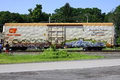 Dekor Mech (BombTrains) Tags: road railroad art love train bench graffiti paint steel tag graf rail spray etc graff freight reefer mech fr8 cryx dekor cyro 3169 benching xvc