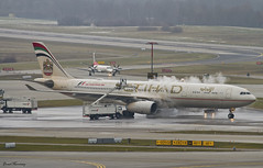 Etihad Airways A330-300 A6-AFD (birrlad) Tags: ice weather airplane switzerland airport frost taxi aircraft aviation zurich airplanes international abudhabi airline airbus airways airlines departure takeoff a330 airliner departing deice zrh taxiway a333 etihad a330300 a330343 a6afd