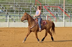 20150402_Barrel Racing NTFG-0252 (niteowl0545) Tags: horse sports girl barrels rodeo cowgirl athlete saddle northtexas nkon barrelrace