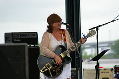 Susan Cowsill at French Quarter Fest 2015, Day 1, Thursday, April 9