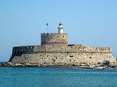 Rhodes (amhjp) Tags: seascape castle landscape boats boat seaside nikon harbour greece seashore rhodes harb greekisland amhjpphotography amhjp