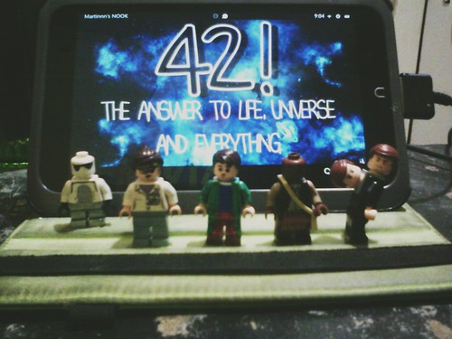 Douglas Adams book fan photo