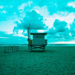 ave 26. venice beach, ca. 2015. (eyetwist) Tags: ocean california venice sunset sky seascape color green 120 6x6 mamiya film beach clouds analog mediumformat square 50mm la losangeles los xpro crossprocessed saturated sand surf cross pacific angeles kodak dusk teal crossprocess horizon footprints lifeguard ishootfilm pacificocean socal venicebeach analogue mamiya6 expired ektachrome processed cloudporn baywatch emulsion primes angeleno e100sw oceanfrontwalk eyetwist 6mf mamiya6mf theicon 26thavenue ishootkodak ave26 kodakektachromee100sw epsonv750pro recentlyprocessedfilm filmexif filmtagger eyetwistkevinballuff crossprocessede6toc41 mamiya50mmf4l