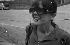 Betty (Minimal Cinema) Tags: street bw blackwhite lomo lomography grain scratches hp5 rodinal ilford 400asa 125 lowfi werlisa r09 clubcolor