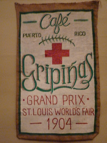 Jayuya, Hacienda Gripinas coffee sack 1904