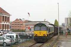 Trainsport V264 @ Olen fabriek (Peter Van Gestel) Tags: toe 15 66 class te met een extra rijn trein ligne koper vanuit lijn komt bulgarije olen pb01 ijzeren ruw trainsport umicore cumerio v264