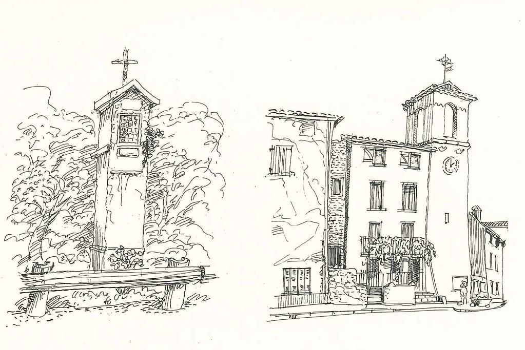 Oratoire Saint Roch et Horloge