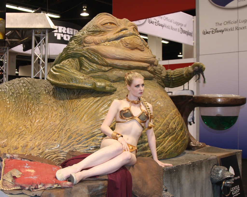 The World's Best Photos of metalbikini and princessleia ... Jabba The Hutt And Leia