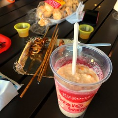 at Nuvali (davanita) Tags: food 6x6 bbq halohalo chicharon ip6s