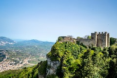 The castle on the rocks (Anushka Fernando) Tags: travel italy castle abandoned nature photography nikon ruins europe top explorer hill norman hills adventure mount explore valley destination sicily medival erice trapani discover naturescape explored d3200