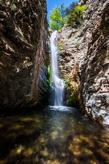 Millomeris Waterfall /   (Kochum) Tags: flow nikon cyprus 1020 troodos   d90 sigma1020    millomeris