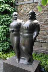 Fat Ladies statues (I believe this is the name of the statues) (Canadian Pacific) Tags: park county usa newyork art america garden us estate unitedstates state outdoor arts american rockefeller westchester kykuit sleepyhollow tarrytown pocanticohills ofamerica aimg6421