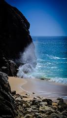 DSC_0196 (FlipperOo) Tags: voyage sea mer france color st rock port de nikon pierre vagues plage morbihan blanc roche arche quiberon instagramapp