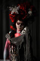 Mardi gras (Red Cathedral was at Shankra) Tags: art halloween graffiti sony eerie bodypaint horror bodypainting alpha mardigras redcathedral gavere a850 eventcoverage sonyalpha gafodi aztektv bertverstappen bodypaintshootday