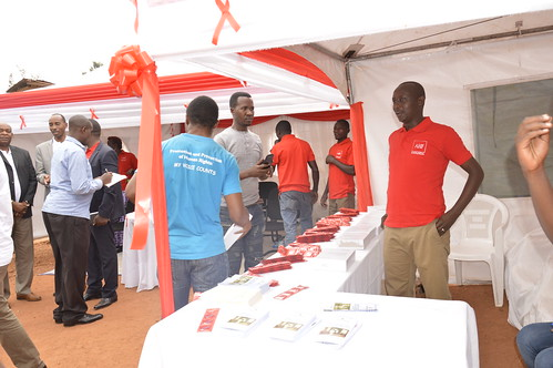AHF Rwanda 24/7 Condom Distribution Kiosks Initiative Launch