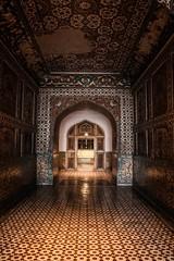 Gleaming hallway. (Sherazdionysus) Tags: pakistan reflection tomb historical shining lahore hallways lightroom heritagesite canonphotography