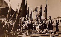 Women in shorts march in the Festival of Youth and Sports, 1939, Turkey [1024  625] #HistoryPorn #history #retro http://ift.tt/25jxtGl (Histolines) Tags: history sports festival youth turkey march women retro timeline shorts 1939 1024 625  vinatage historyporn histolines httpifttt25jxtgl