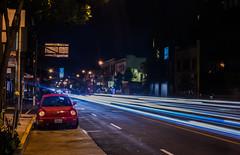 redbug (pbo31) Tags: sanfrancisco california red motion black color june night bug dark volkswagen evening spring nikon traffic infinity beetle bayarea soma 9th tenderloin roadway 2016 lightstream boury pbo31 d810