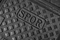 SPQR (giolor89) Tags: bw italy white black rome roma iron bn engraving bianco nero romanempire ferro spqr