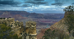 Looking east from Moran Point (John A. McCrae) Tags: arizona usa nature river landscape nationalpark unitedstates pentax grandcanyon can coloradoriver geology redrock viewpoint 1224mm moranpoint pentaxk5