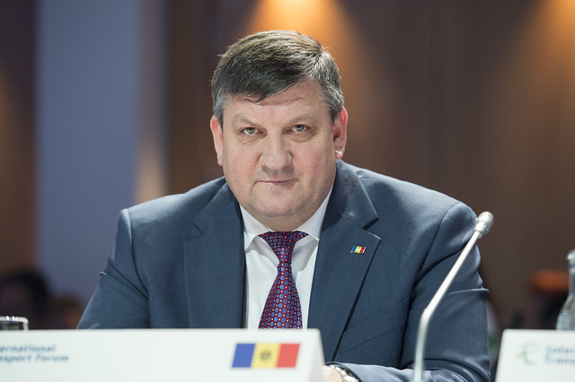 Iurie Chirinciuc attends the Open Ministerial Session