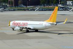 Pegasus Airlines Boeing 737-82R(WL) TC-ASP (EK056) Tags: airport pegasus boeing airlines dsseldorf 73782rwl tcasp