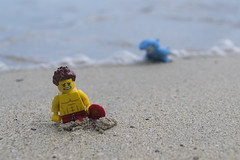 Shark! (Nicola Berry) Tags: ocean beach shark nikon do lego sigma lifeguard to 5300 scared stthomas legominifigure minifigure 18250 emeraldbeach sigma18250 d5300 nikond5300